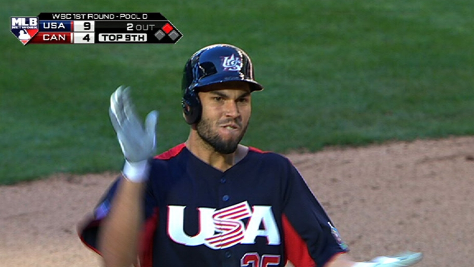 Hosmer's bases-clearing double
