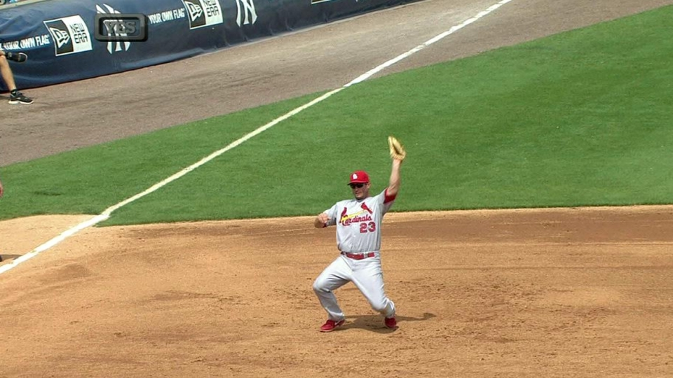 Freese's quick grab