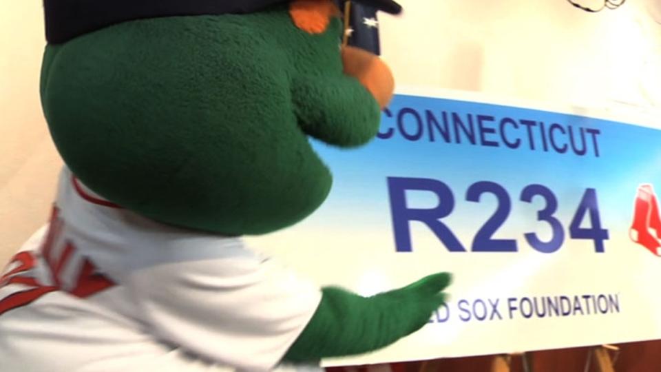 Connecticut's Sox license plate