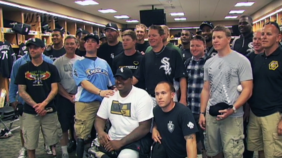 Peavy invites Wounded Warriors
