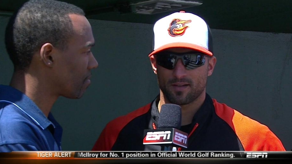 Markakis discusses health, team
