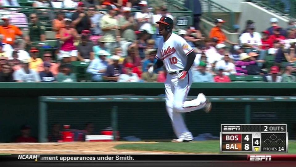Jones' second home run