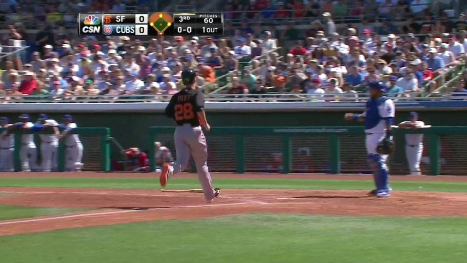 Torres' two-run double