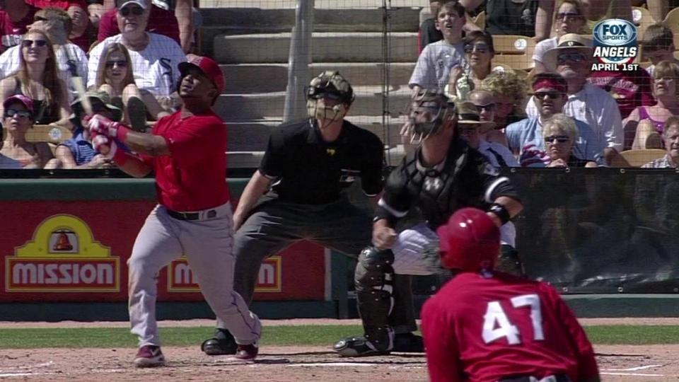 Callaspo's two-run homer