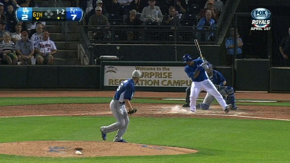 Howell's four strikeouts