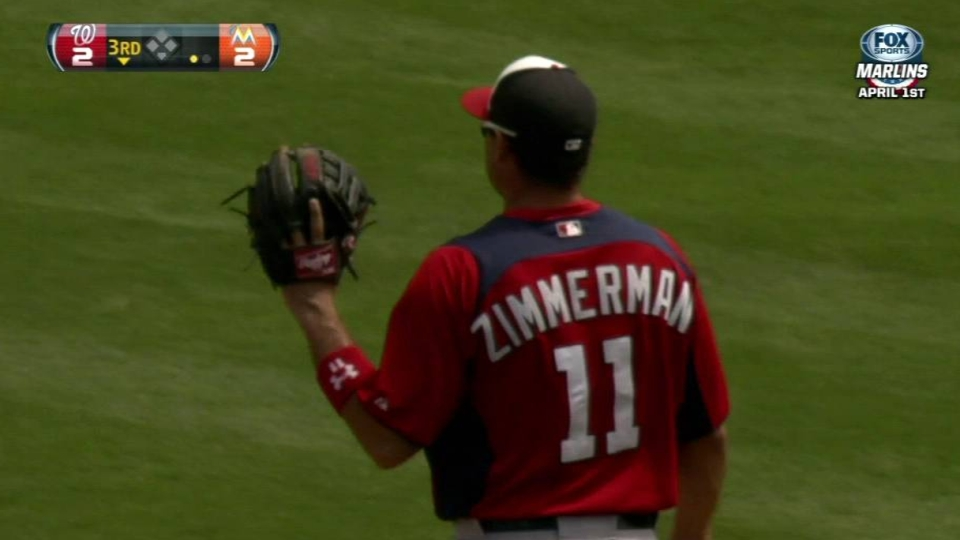 Zimmerman's heads-up play