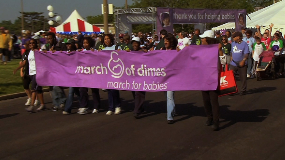 Cardinals support March of Dimes