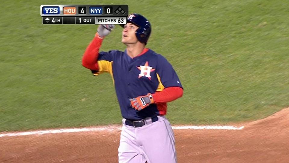 Barnes smacks a solo home run