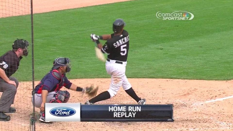 Sanchez's game-tying homer