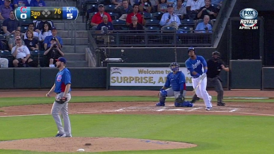Perez's back-to-back home run