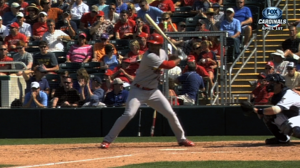 Taveras' big day at the plate