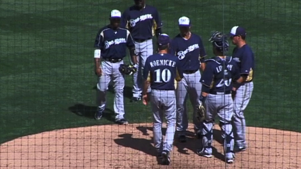 Lohse on Brewers debut