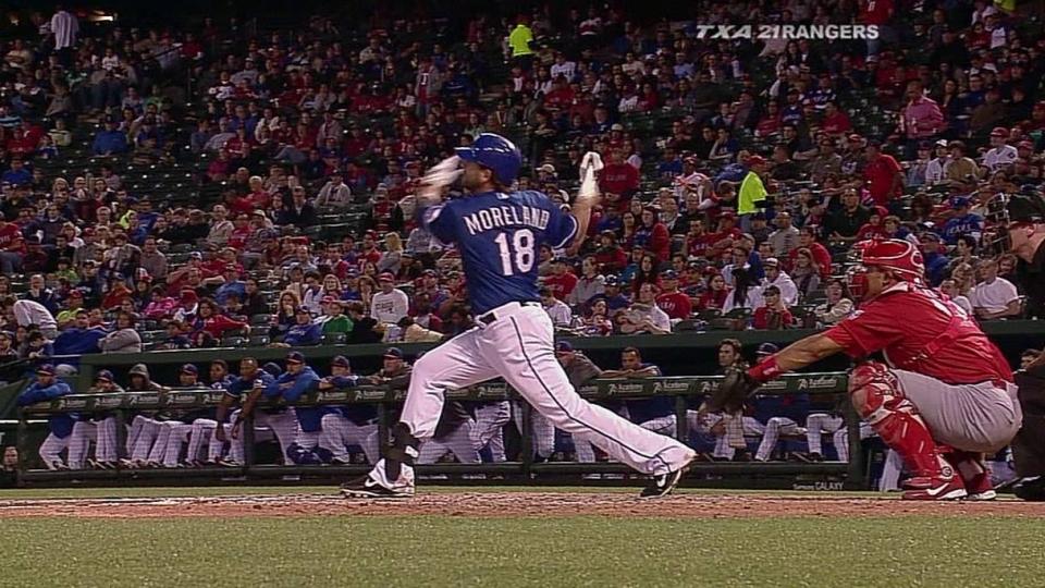 Moreland's solo home run