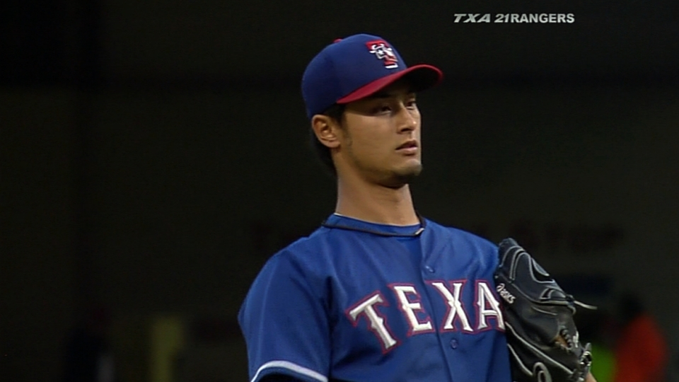 Darvish's scoreless outing