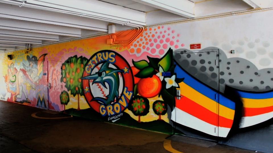 Marlins Ayudan: Paint a school