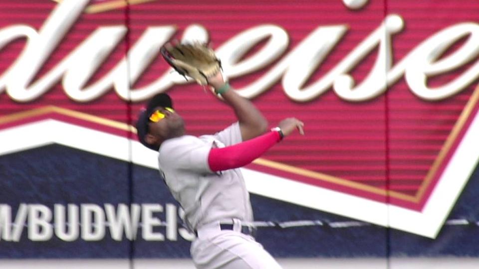 Bradley's impressive catch