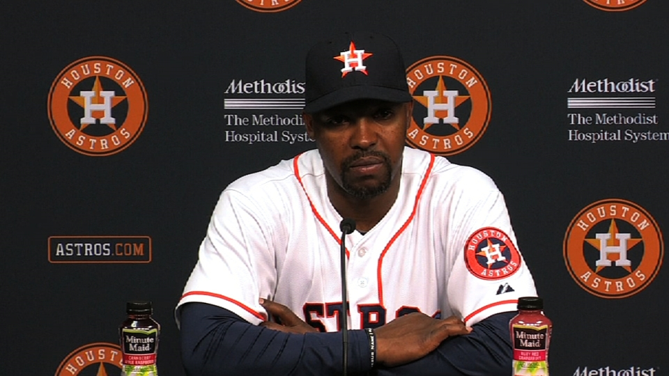 Porter on Astros keeping pace