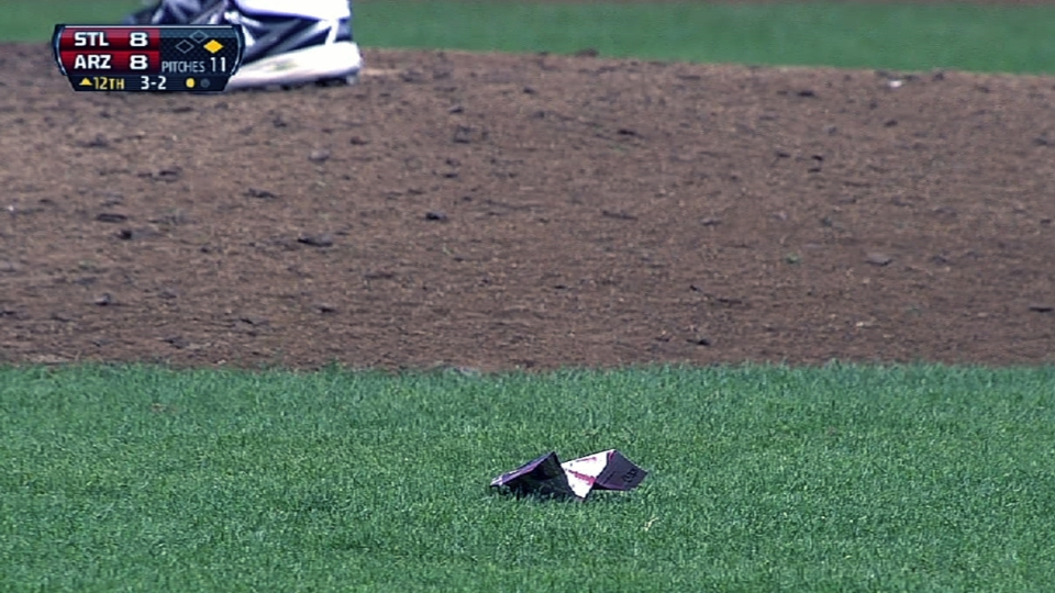 Paper planes invade Chase Field