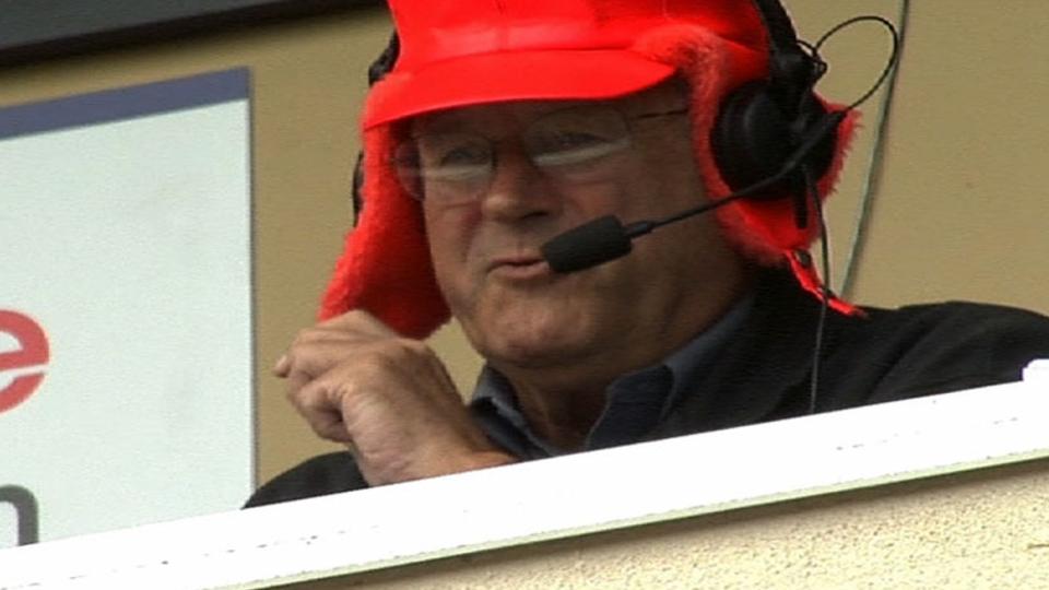 Pirates announcers talk hats