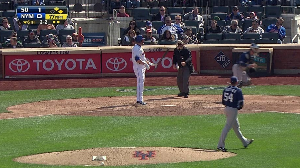 Thatcher's strikeout ends inning