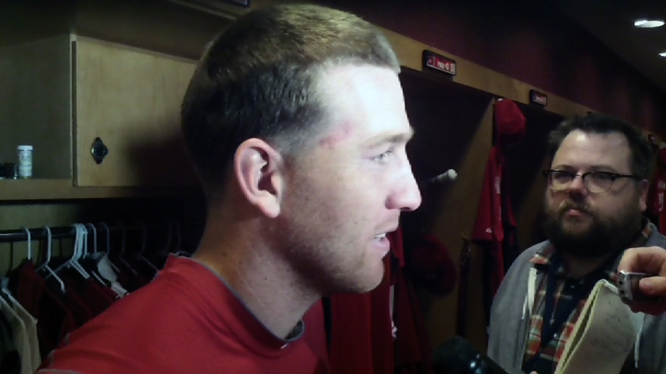 Reds on loss to Nationals