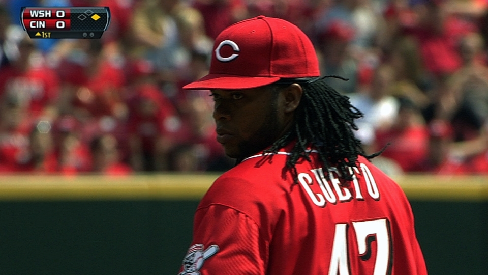Cueto's solid start