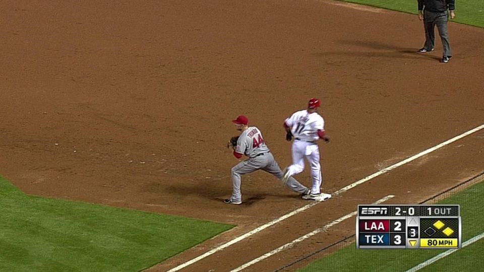 Weaver gets out of a jam