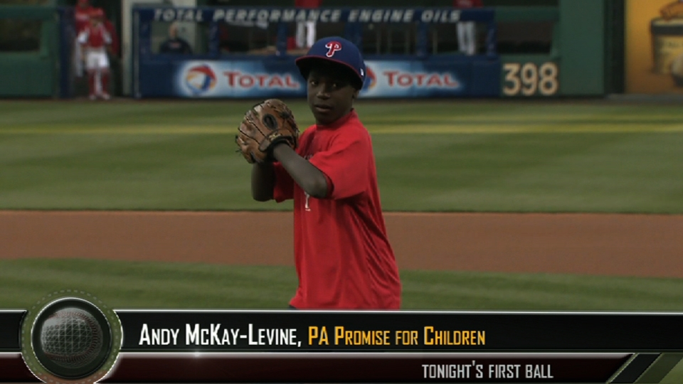 Promise for Children first pitch
