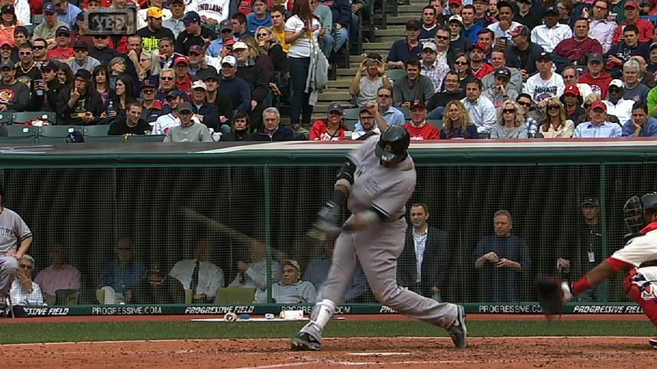 Cano's second home run