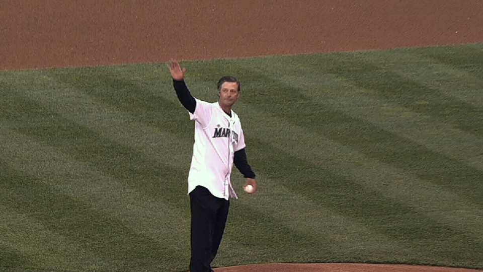 Moyer's first pitch