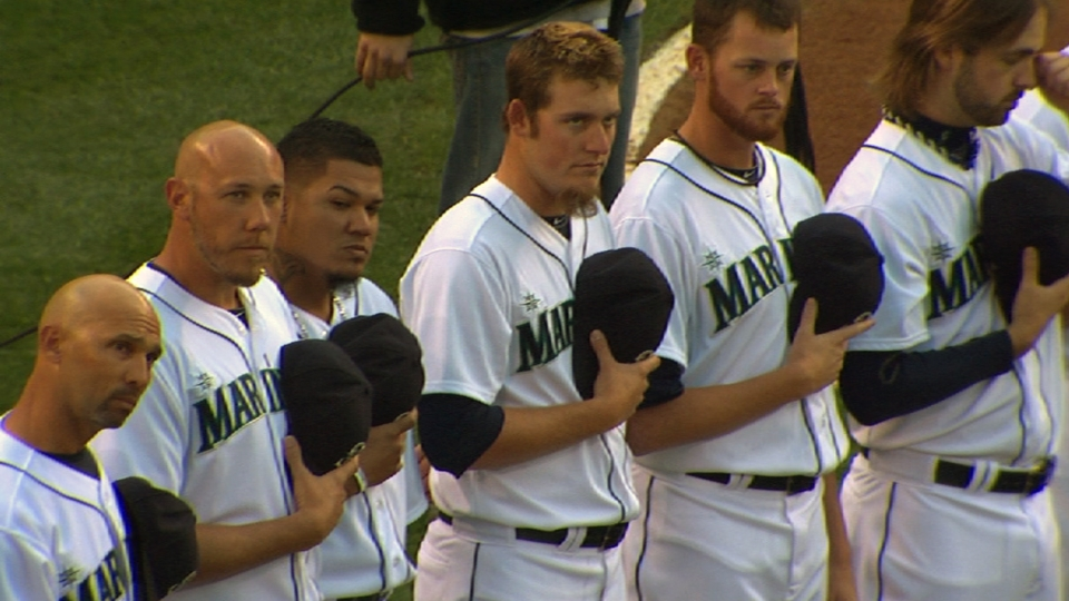 Mariners: Home opening ceremony