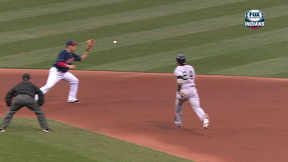 Carrasco induces double play