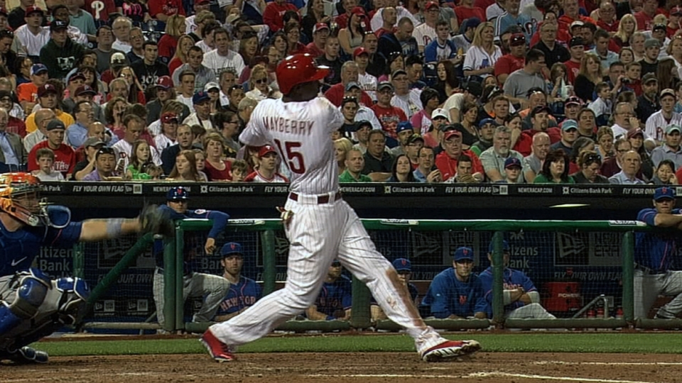 Phils hit three homers in third