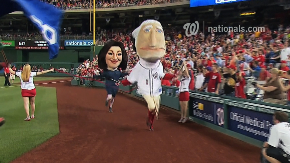 April 9 Presidents Race