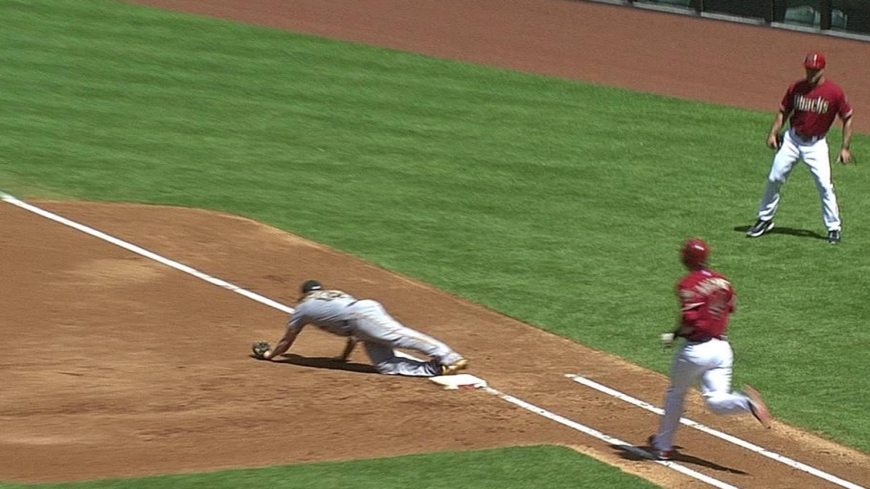 Barmes' slick fielding