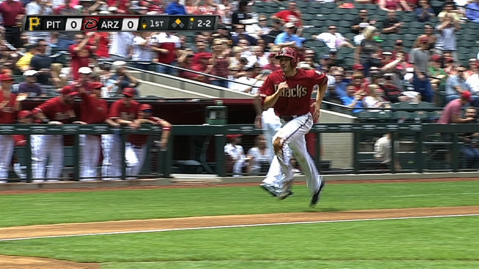 Pollock's big day at the plate