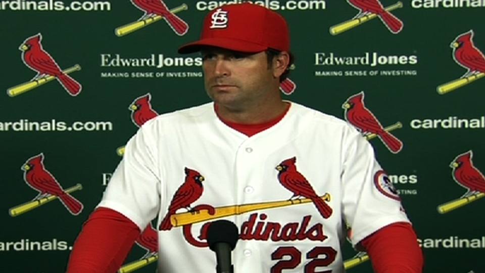 Matheny proud of team win