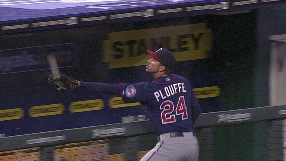 Plouffe's nice grab