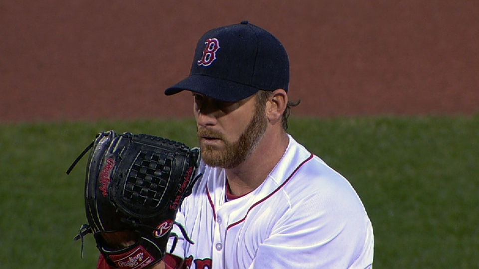 Dempster's seven strikeouts