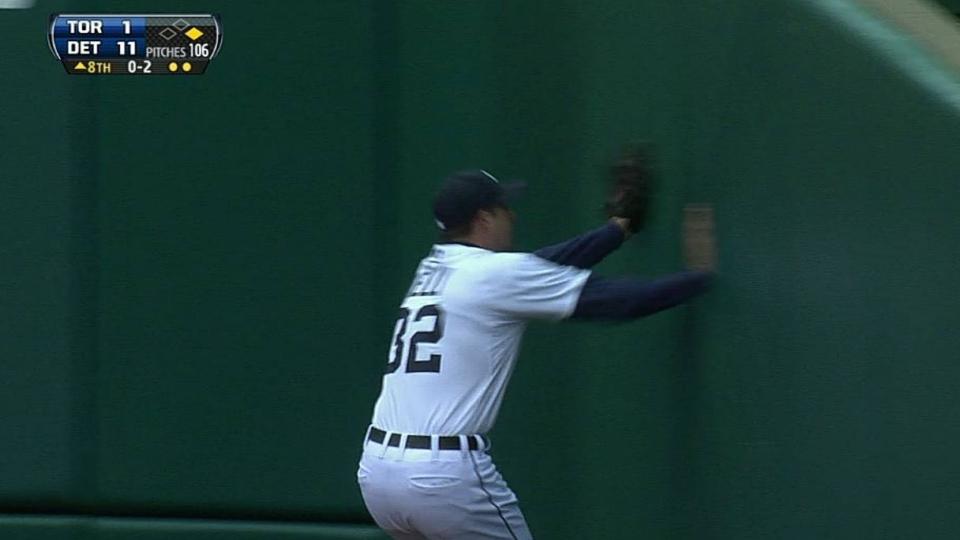 Kelly's running catch