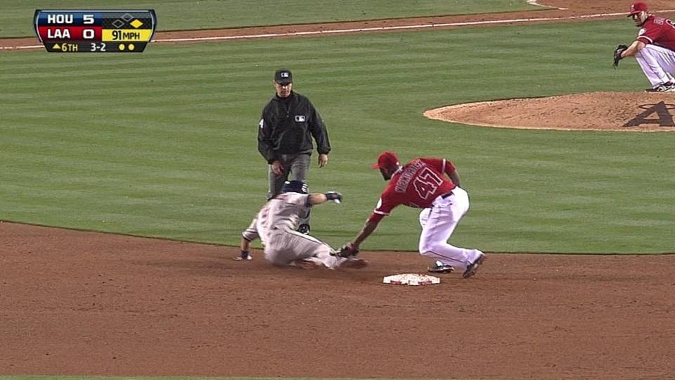 Conger throws out Gonzalez