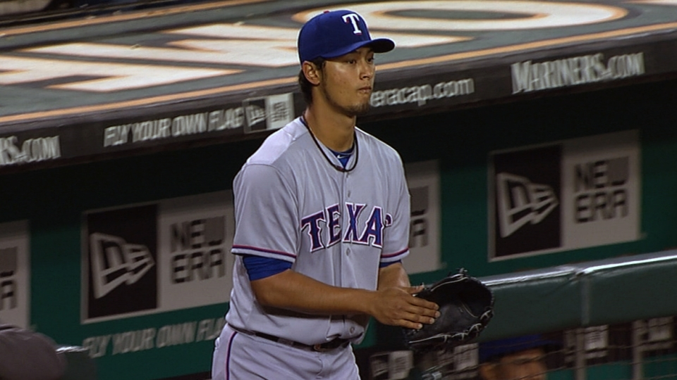 Darvish's eight strikeouts