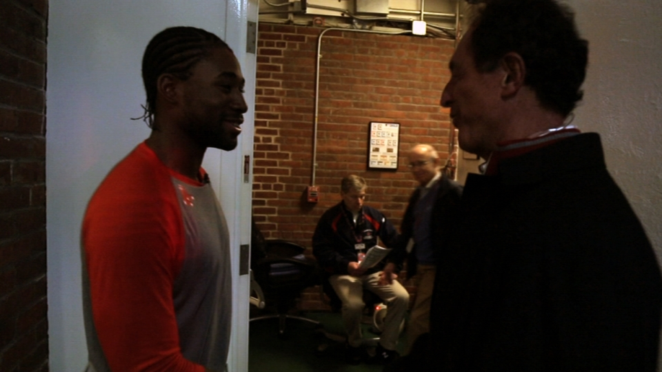 Bradley Jr. meets Fred Lynn