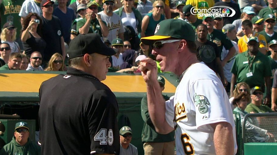 Moss argues strikeout call