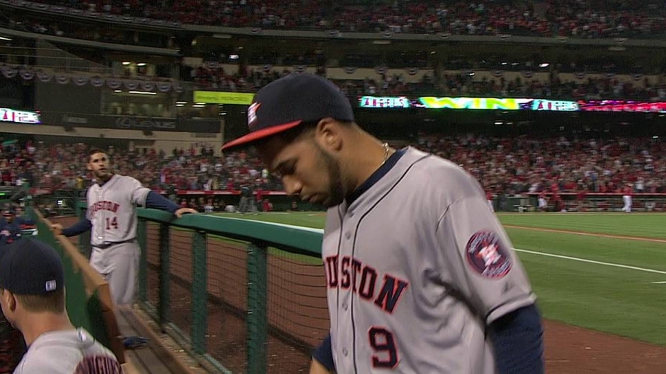 Astros fall on walk-off double