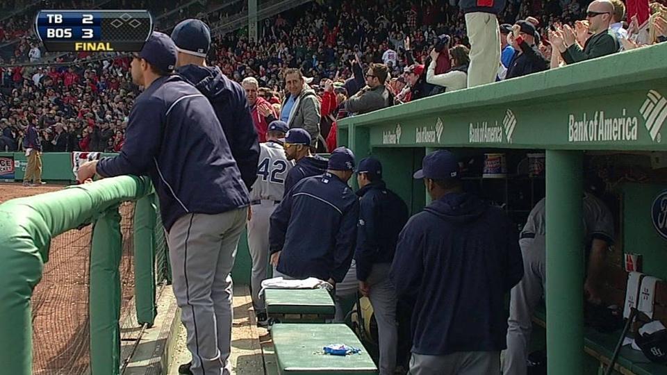 Rays lose on walk-off