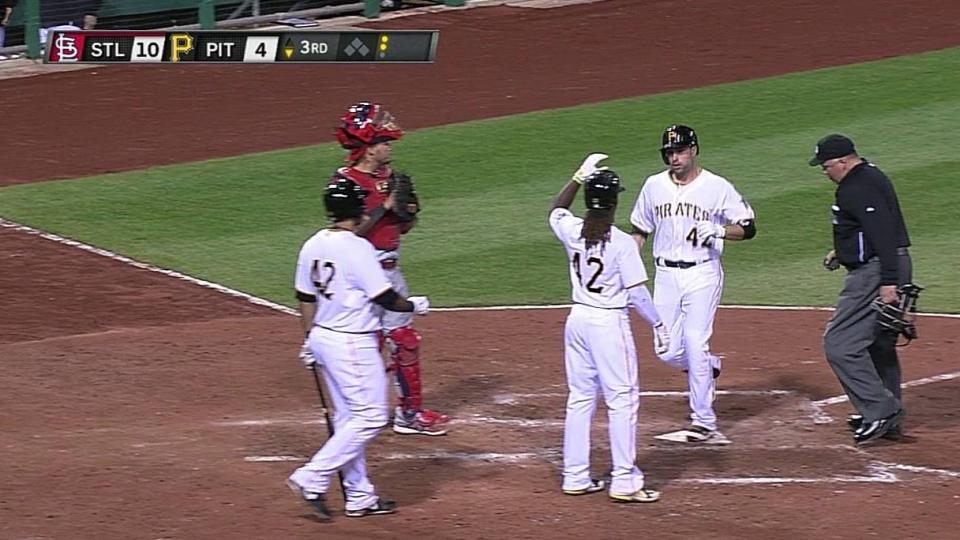Walker's two-run homer