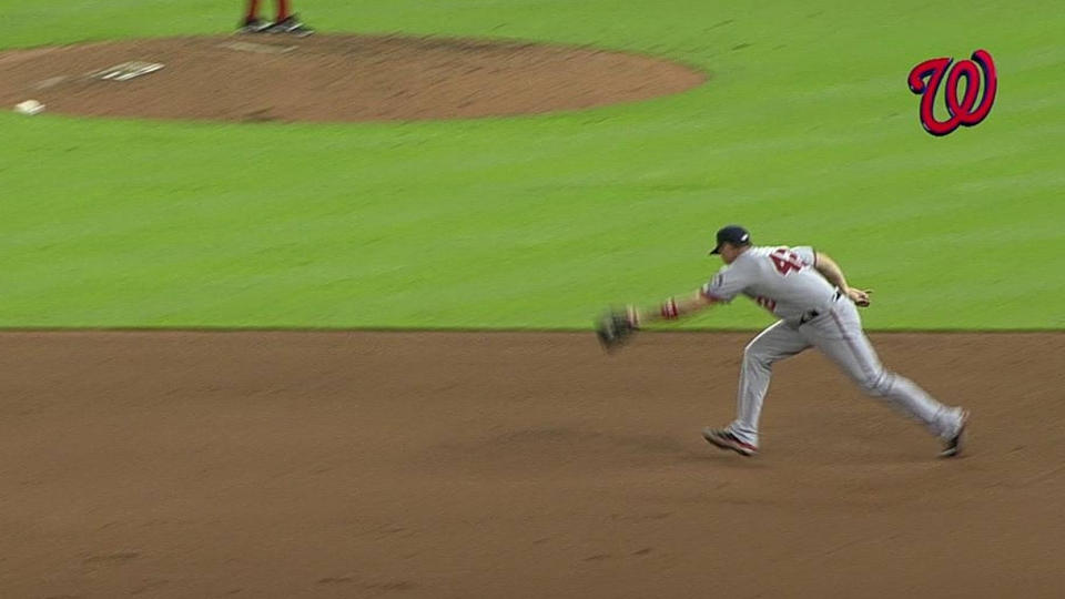 Zimmerman's nice pick ends game