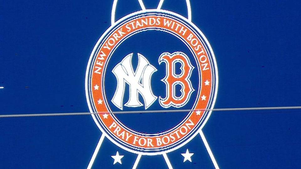Yankees honor Boston