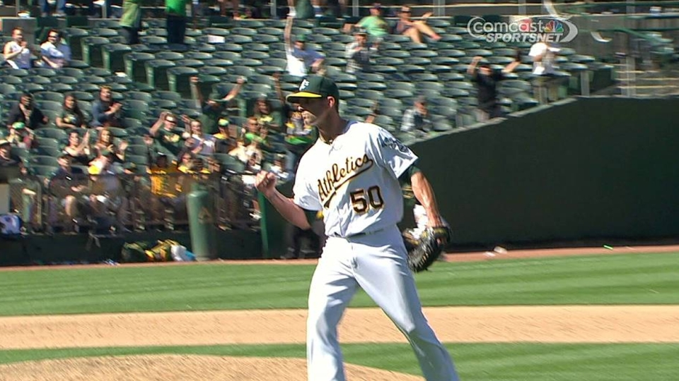 Balfour induces double play